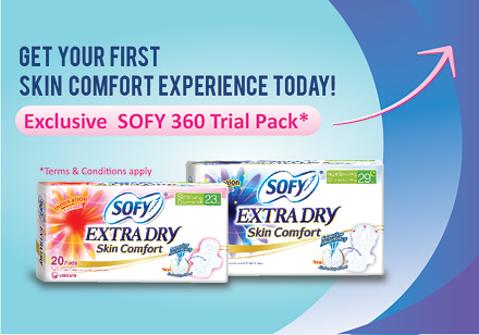 SOFY Extra Dry, the 1st Skin Comfort Experience