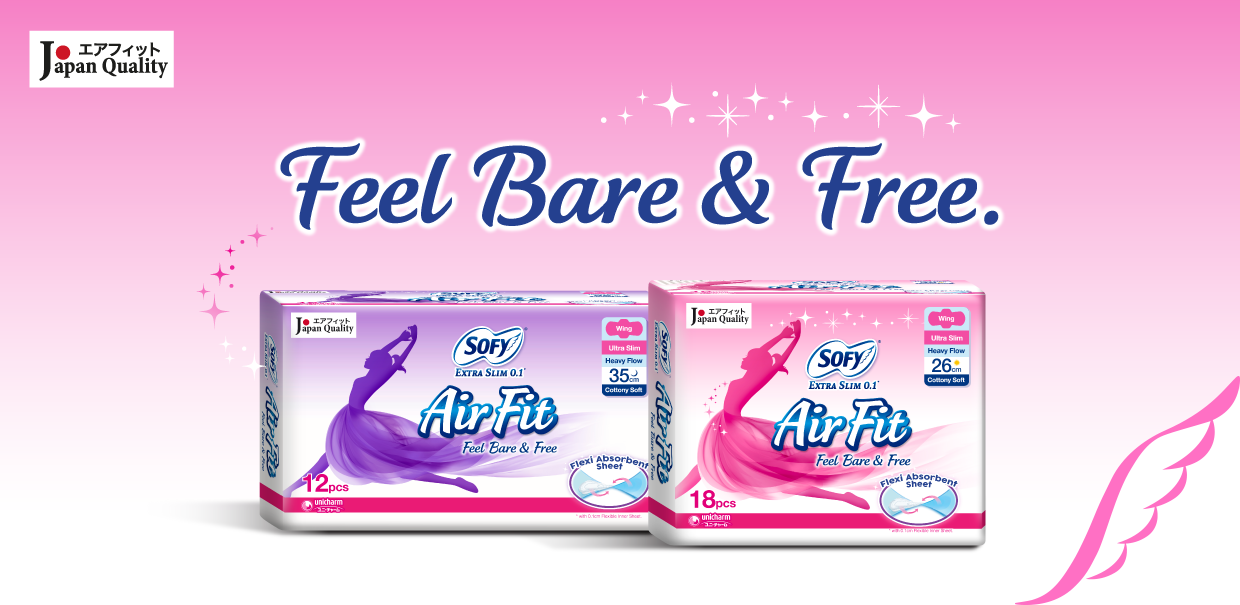 SOFY Air Fit 0.1 Sanitary Pads