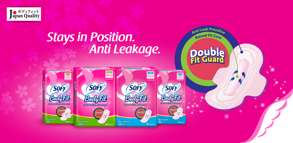 SOFY Body Fit Day Sanitary Pads