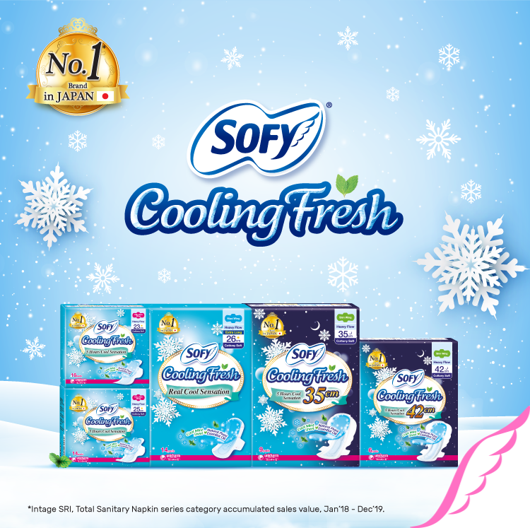 SOFY Cooling Fresh Sanitary Pads