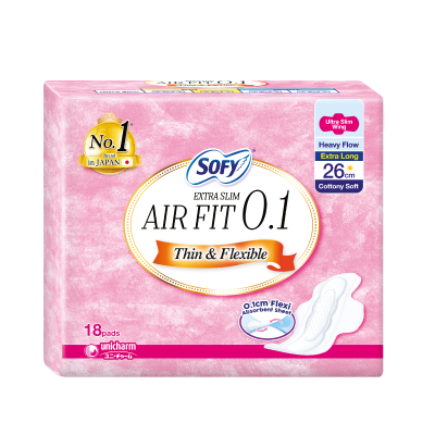 SOFY Air Fit 0.1 Day Ultra Slim 26cm