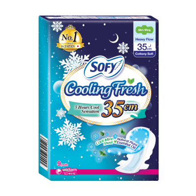 SOFY Cooling Fresh Night 35cm